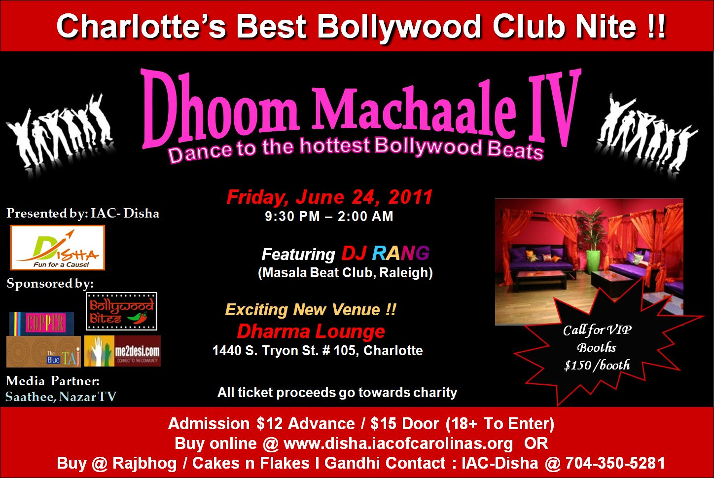 Flyer from Dhoom Machaale IV